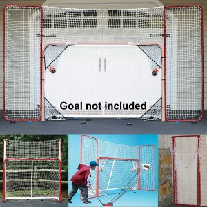 EZGoal Lacrosse Folding Goal with Backstop and Targets